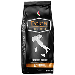 Кофе зерновой Gusto Forte